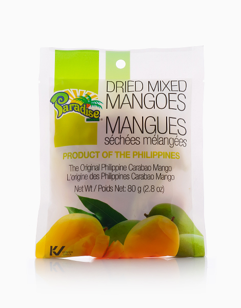 Dried Mixed Mangoes (80g) by Paradise