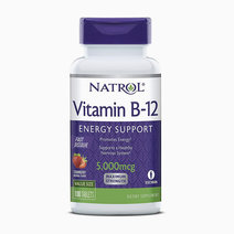 Natrol vitamin b12 energy support 5 000mcg   100 tablets