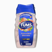 Tums antacid chewable tablets for heartburn relief  ultra strength  assorted berries  72 tablets