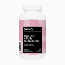 Solimo hair  skin   nails multivitamin 300caps %285 month supply%29