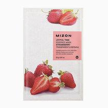 Mizon joyful time essence mask %28strawberry%29