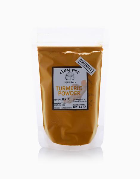Organic Turmeric Powder (125g) by Clay Pot