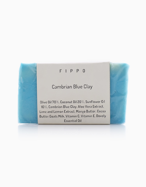 Cambrian Blue Clay Soap by Fippo Handcrafted Bath & Body