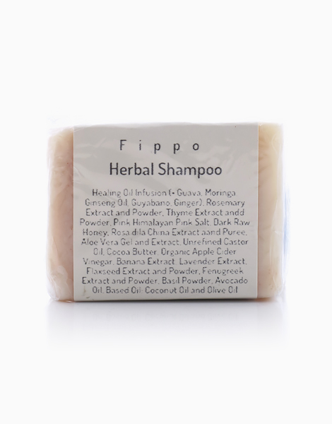 Herbal Shampoo Bar with Conditioning Bar by Fippo Handcrafted Bath & Body