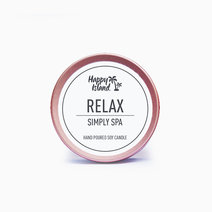 Happy island scented soy candle  relax %282oz%29