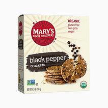 Mary's organic crackers black pepper original seed crackers