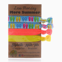 Sunshine and Flip Flops Hair Ties by Little Tree Palette