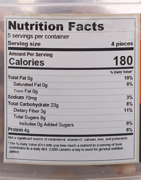 Peanut Butter Energy Bites (Tub of 20) by Veganola PH