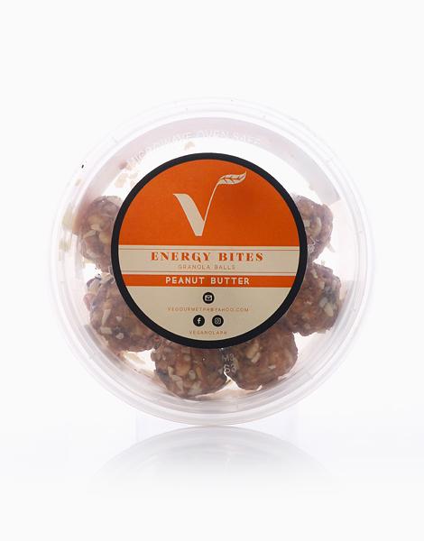 Peanut Butter Energy Bites (Tub of 8) by Veganola PH