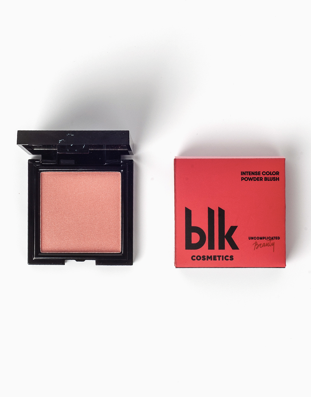 Intense Color Powder Blush in Flushed by BLK Cosmetics