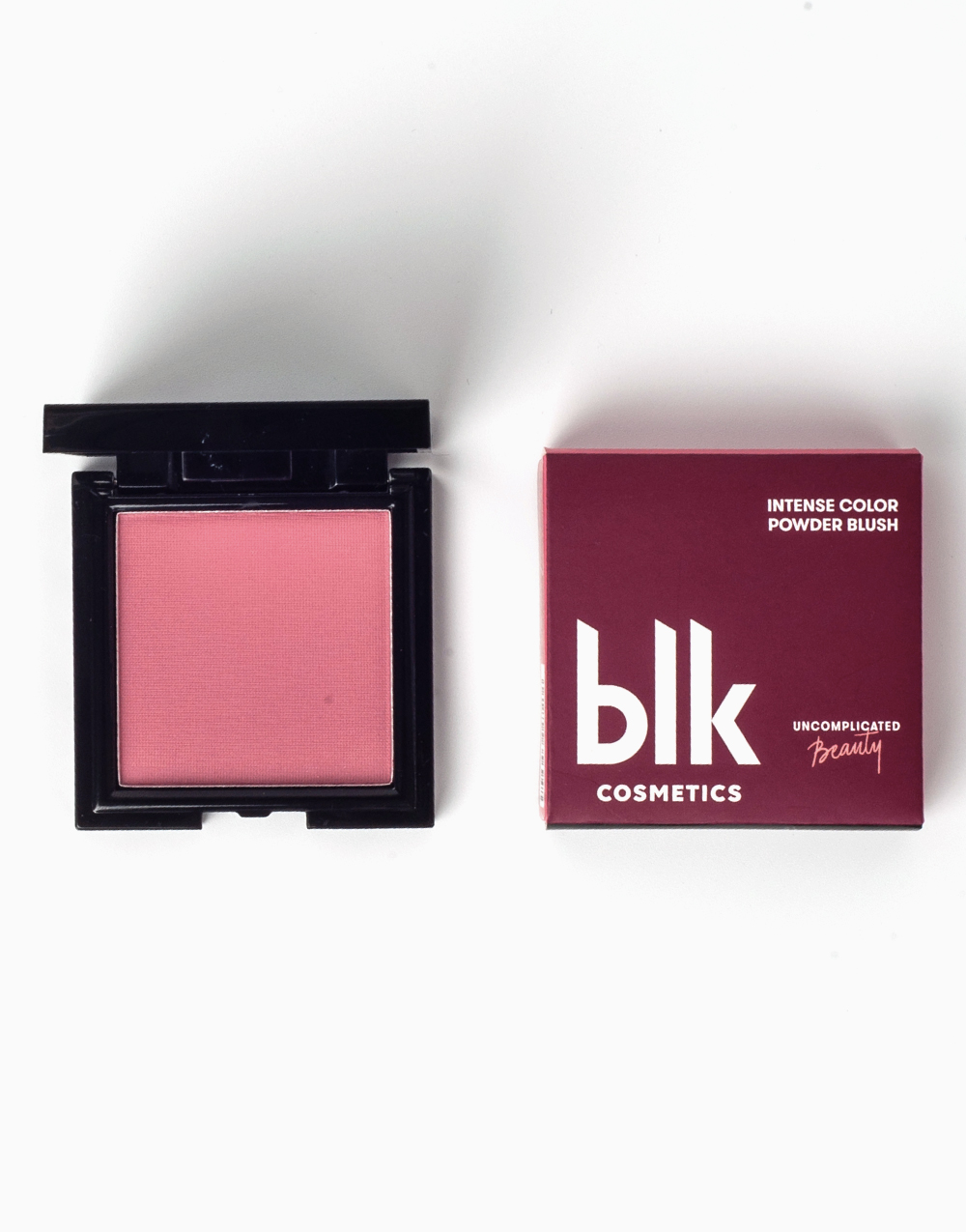 Intense Color Powder Blush in Pinched by BLK Cosmetics