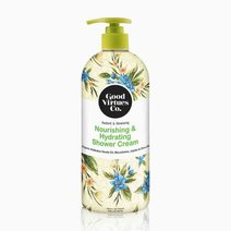 Good virtues co. nourishing   hydrating shower cream macadamia  jojoba   olive oil