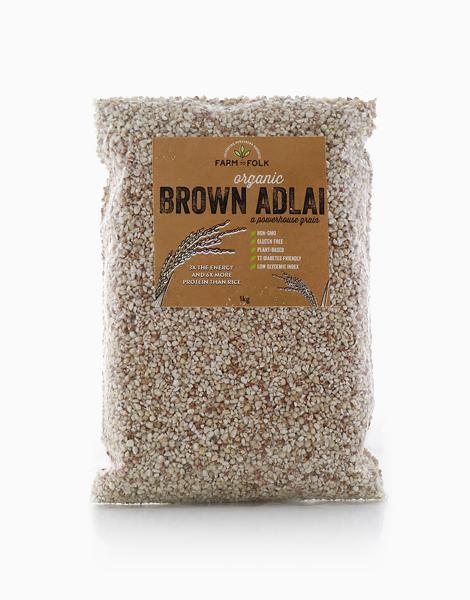 Organic Brown Adlai (1kg) by Farm to Folk