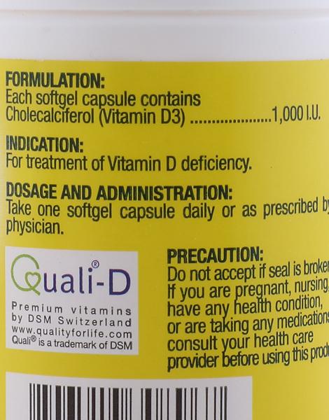 Fern-D Vitamin D3 (60s) by i-Fern