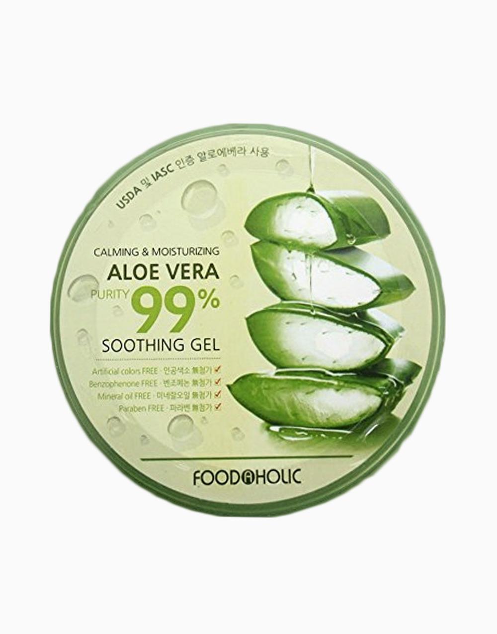 Aloe Vera 99% Soothing Gel (300ml) by Foodaholic