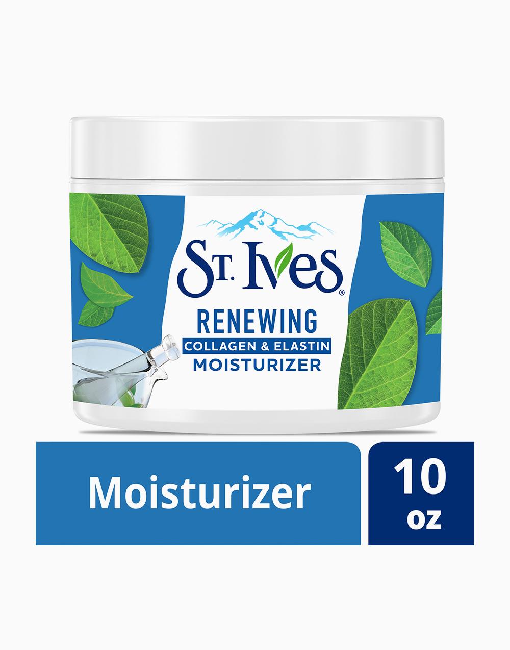 St. Ives Facial Moisturizer Timeless Skin Collagen Elastin (10Oz) by Unilever Beauty