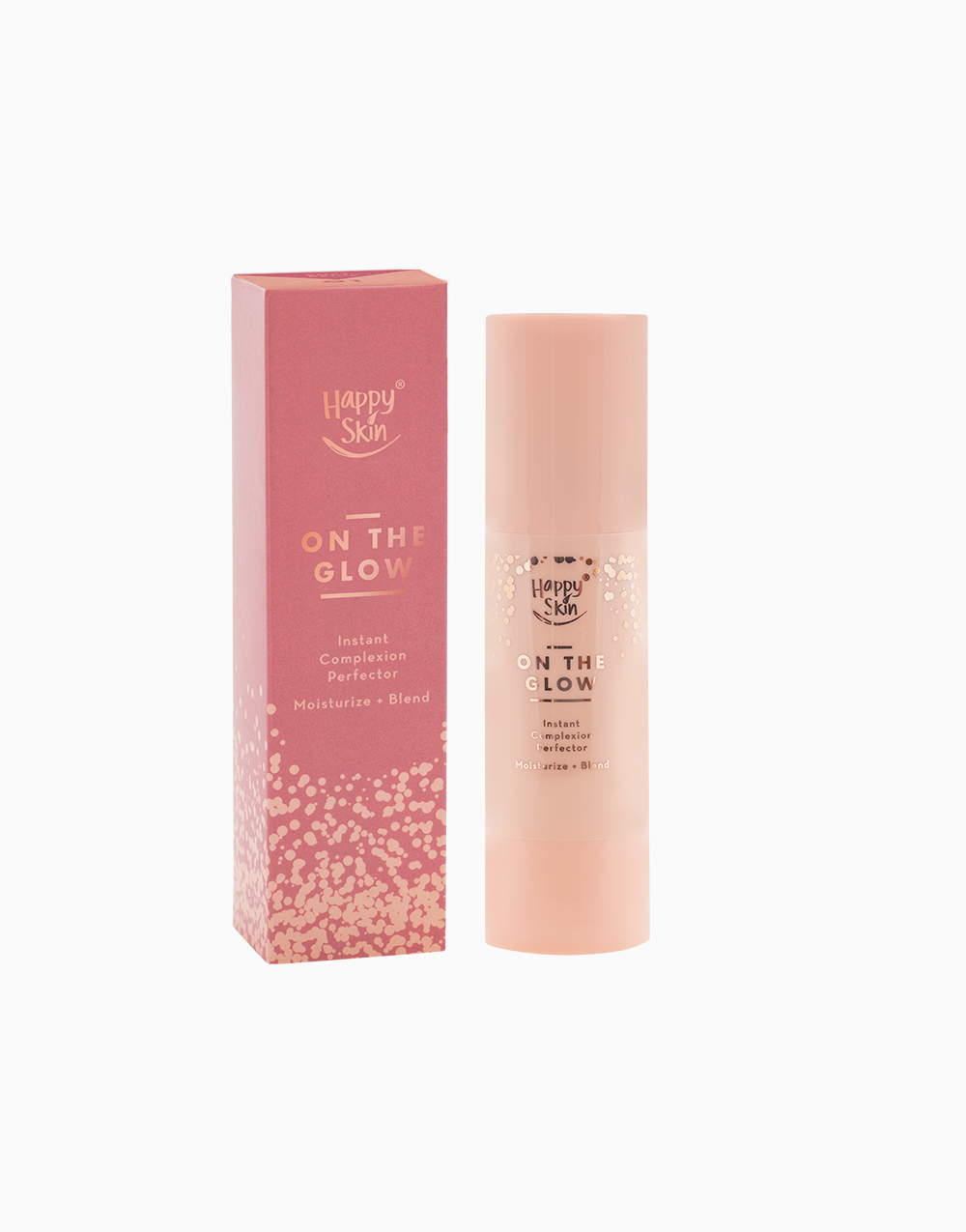 Happy Skin Holidaze On the Glow Exclusive Set in Natural Beige by Happy Skin