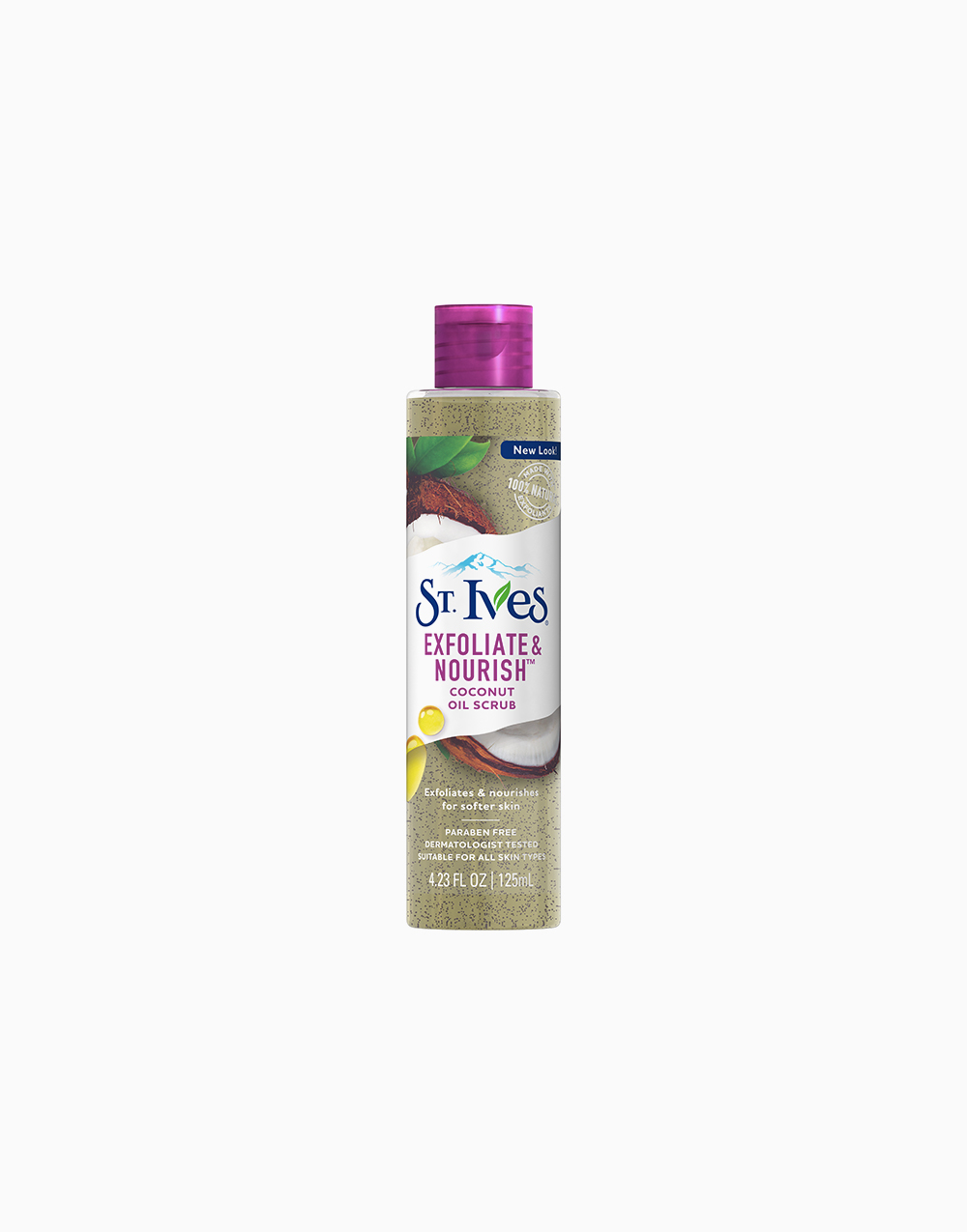 Exfoliate & Nourish Coconut Oil Scrub by St. Ives
