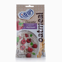 Oatmeal with Milk and Raspberries (50g) by Fitella