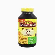 Naturemade chewablevitaminc front