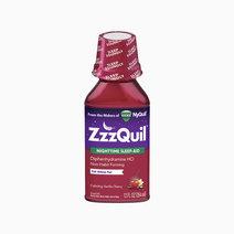 ZzzQuil Nighttime Sleep Aid (Calming Vanilla Cherry Liquid Flavor) by ZzzQuil