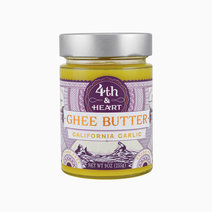 California Garlic Ghee (9oz. Bottle) by Fourth and Heart