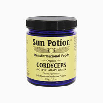 Organic Cordyceps Mushroom Powder (100g) by Sun Potion