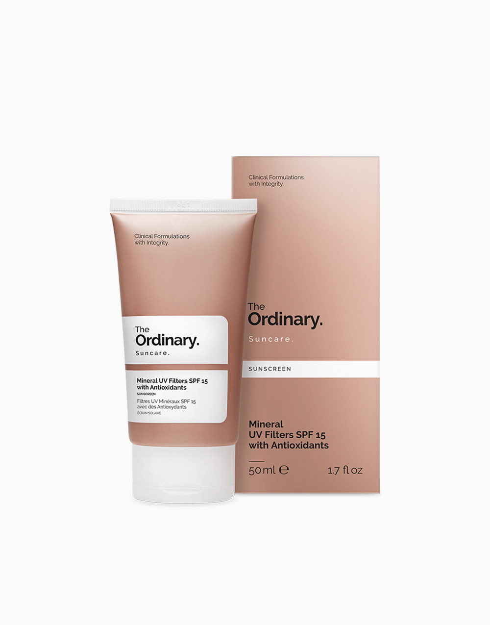 Mineral UV Filters SPF 15 with Antioxidants by The Ordinary