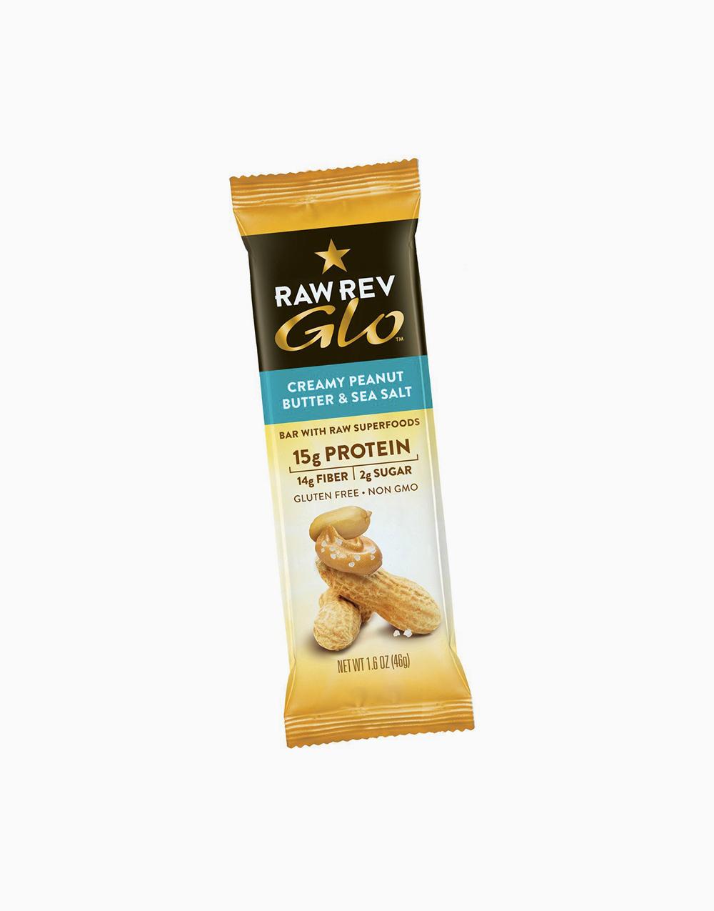 Creamy Peanut Butter & Sea Salt (46g) by Raw Rev Glo