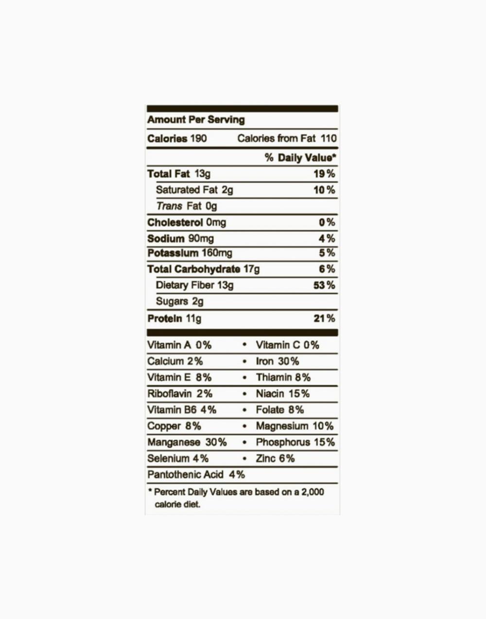 Crunchy Peanut Butter & Sea Salt (46g) by Raw Rev Glo
