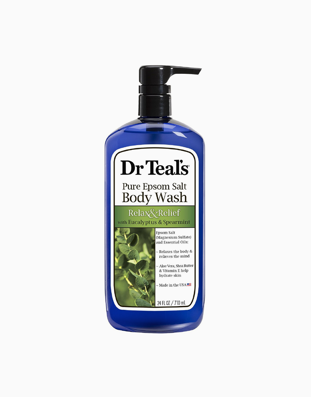 Pure Epsom Salt Body Wash With Eucalyptus and Spearmint by Dr. Teal's