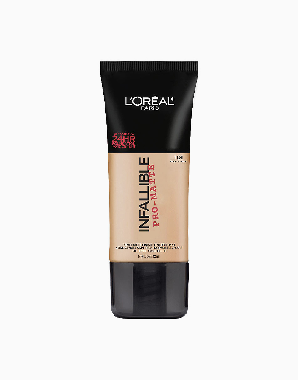 Infallible Pro-Matte Foundation by L'Oréal Paris | 101 Classic Ivory