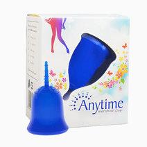 Anytimemenstrualcup blue