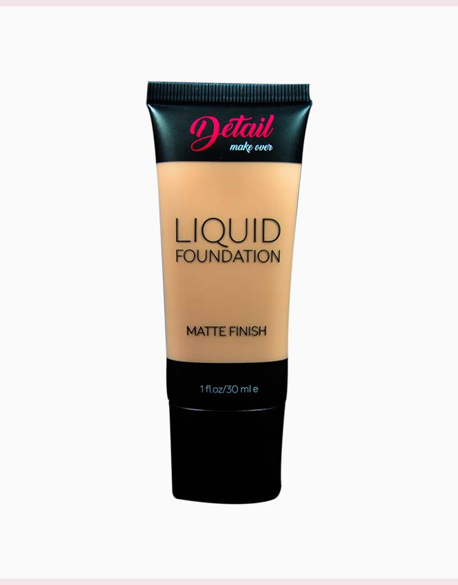 Matte Finish Liquid Foundation by DETAIL | Fair