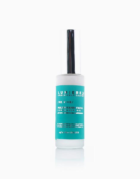 Multivitamin Facial Sunscreen Gel SPF60 (35g) by Lumiere Organiceuticals