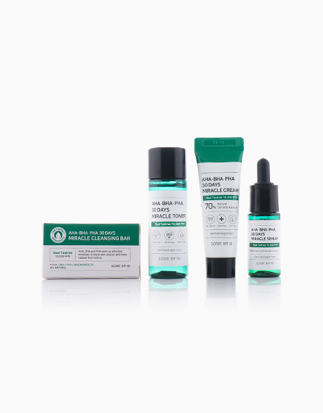AHA BHA PHA 30 Days Miracle Starter Kit by Some By Mi