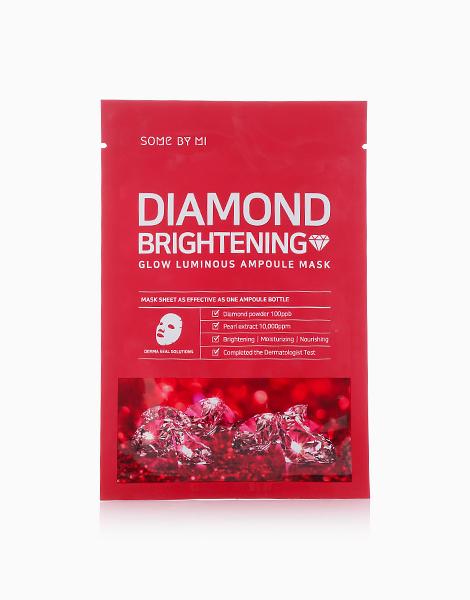 Diamond Brightening Glow Luminous Amploule Mask by Some By Mi