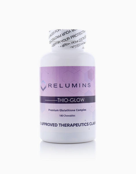 Thio-Glow Chewable Dissolvable Glutathione Complex With Biotin by Relumins