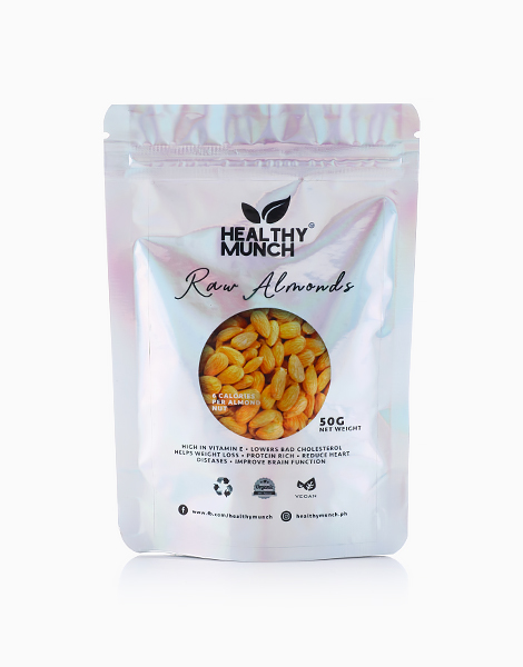 Raw Almonds (50g) by Healthy Munch