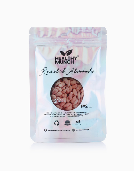 Roasted Almonds (50g) by Healthy Munch