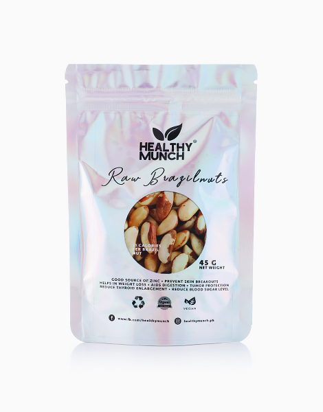 Raw Brazil Nuts (45g) by Healthy Munch