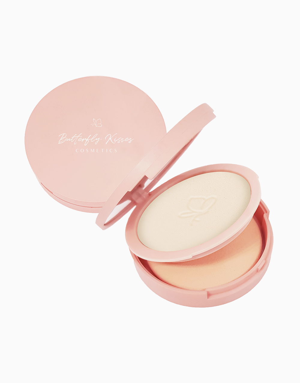 Skin Perfecting Matte Pressed Powder by Butterfly Kisses   Porcelain