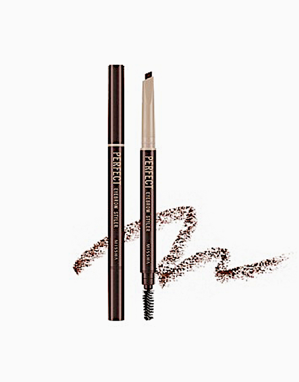Perfect Eyebrow Styler by Missha | M9585 Red Brown