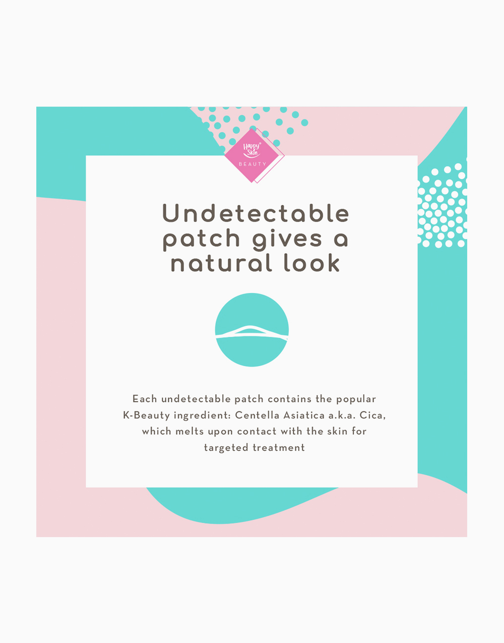 Happy Skin Beauty Invisible Pimple Patch by Happy Skin