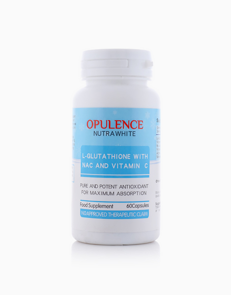 Opulence Nutrawhite L-Glutathione with NAC and Vitamin C by Opulence