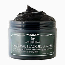 Re annies way charcoal black jelly mask 250ml