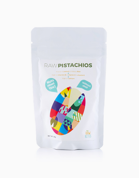 Raw Bites Raw Pistachios with No Shell (40g) by Raw Bites