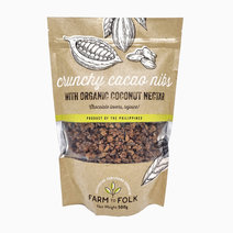 F2f crunchy cacao nibs with organic coconut nectar 500g