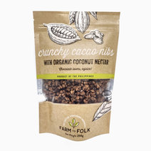 F2f crunchy cacao nibs with organic coconut nectar 250g