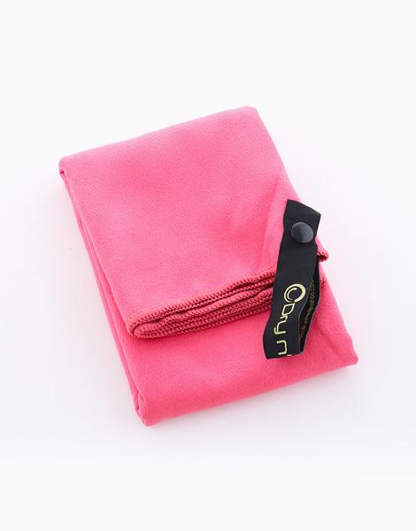 Dry n' Lite Microfiber Ultra Thin Series Sports Towel by Dry N' Lite Microfiber | Hot Pink